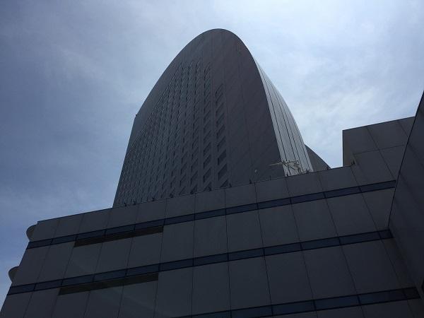 パシフィコ横浜国立大ホールとヨコハマグランドインターコンチネンタルホテル
