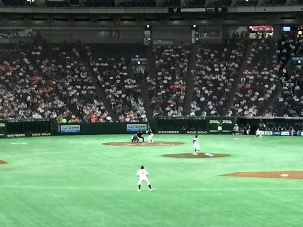 東京ドーム外野席