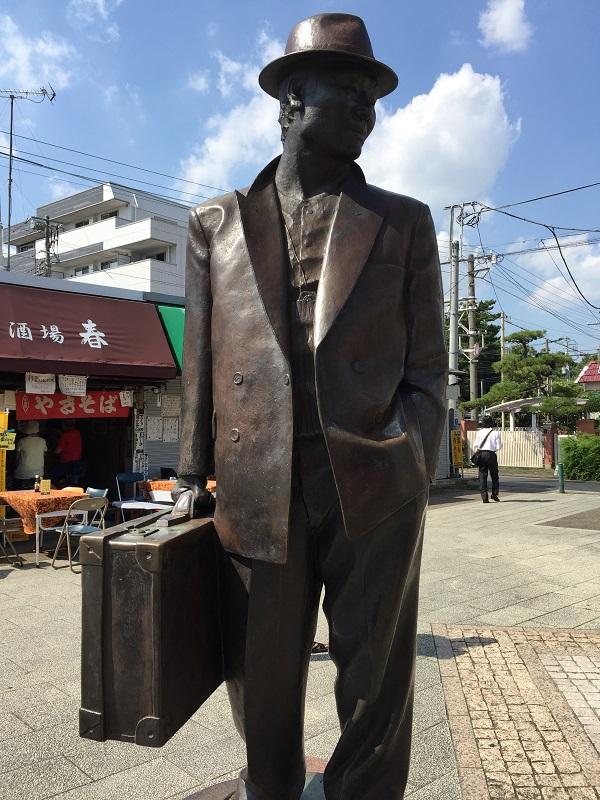 フーテンの寅さん「柴又駅」