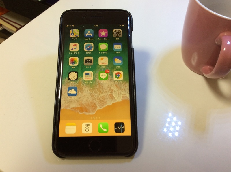 iPhone 8 Plus 有楽町ビックカメラ ドコモから au へ乗り換え
