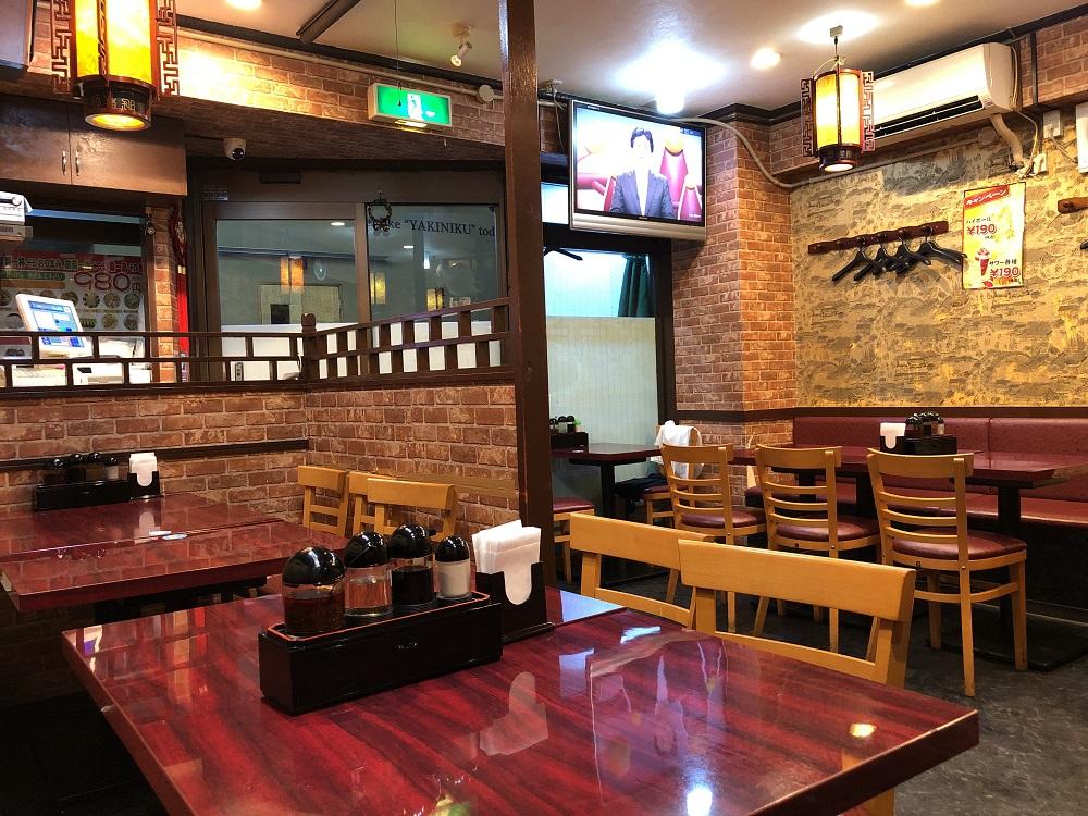 中華料理レストラン 台湾料理屋 980円お得セット