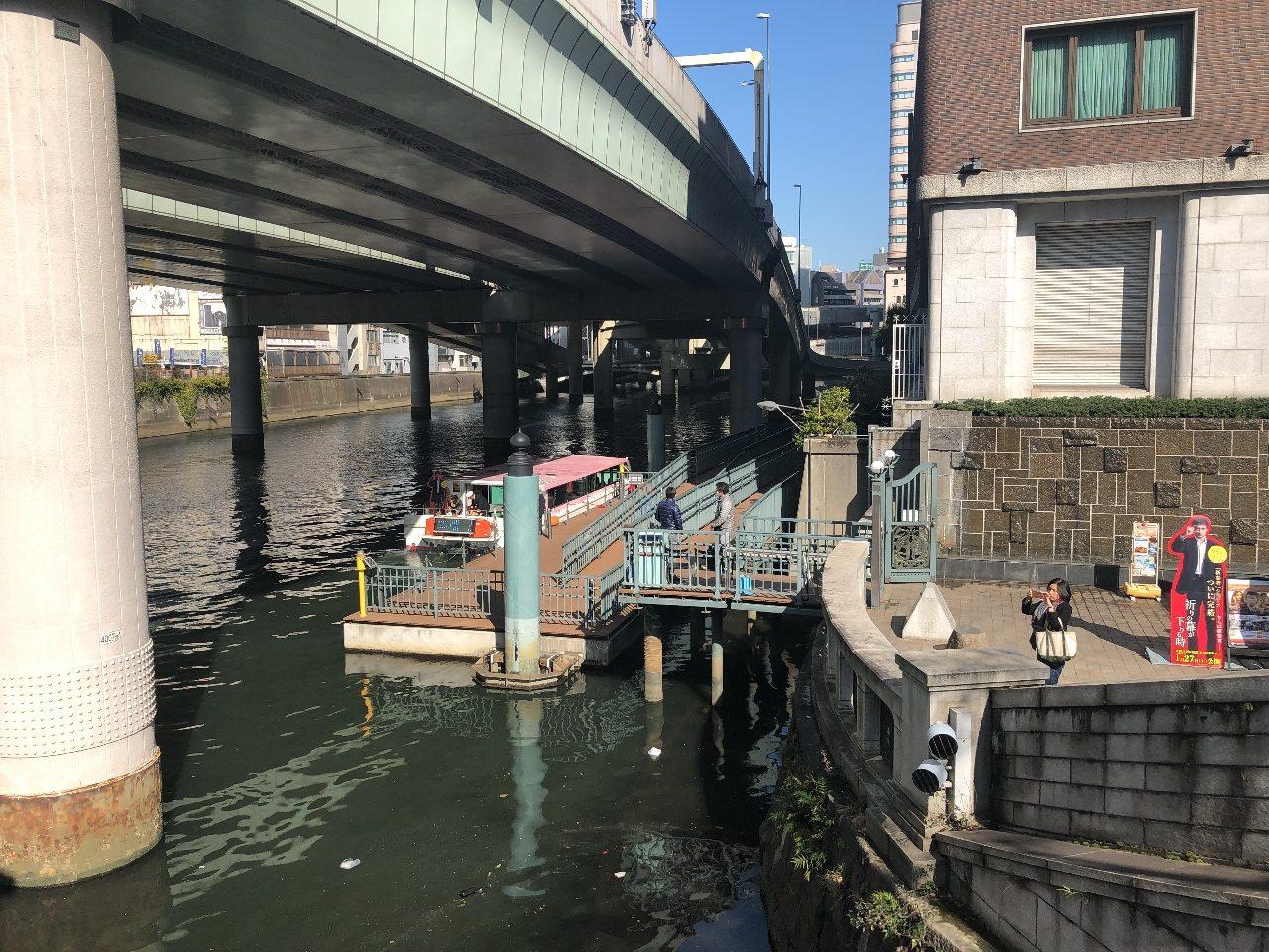 開放感抜群のオープン船で行く日本橋東京の川を知る楽しさ満載のお気軽プラン「日本橋クルーズ45分」 お値段 1500円