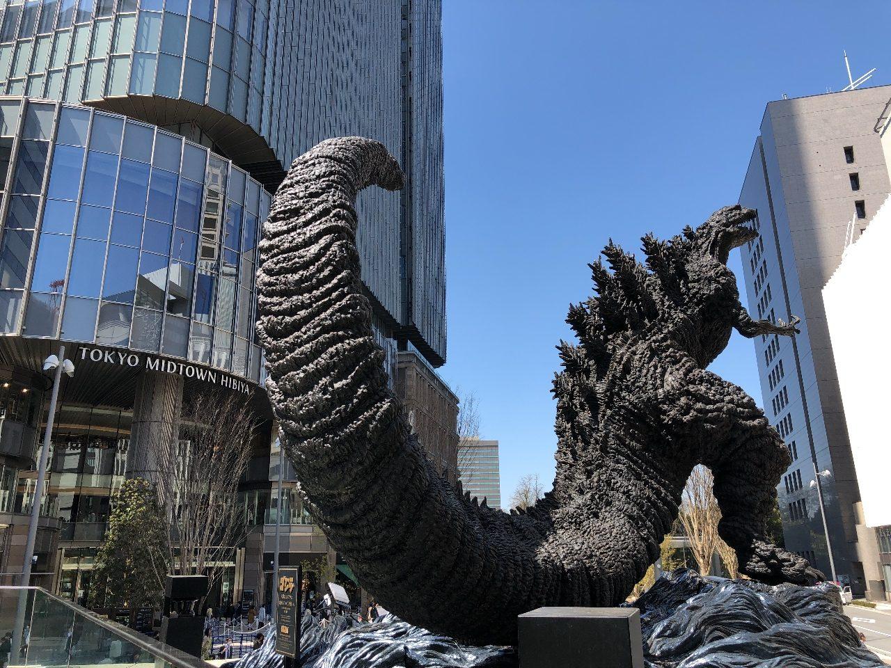「シン・ゴジラ」「ゴジラ」が、「東京ミッドタウン日比谷」よりも一番印象的だった件