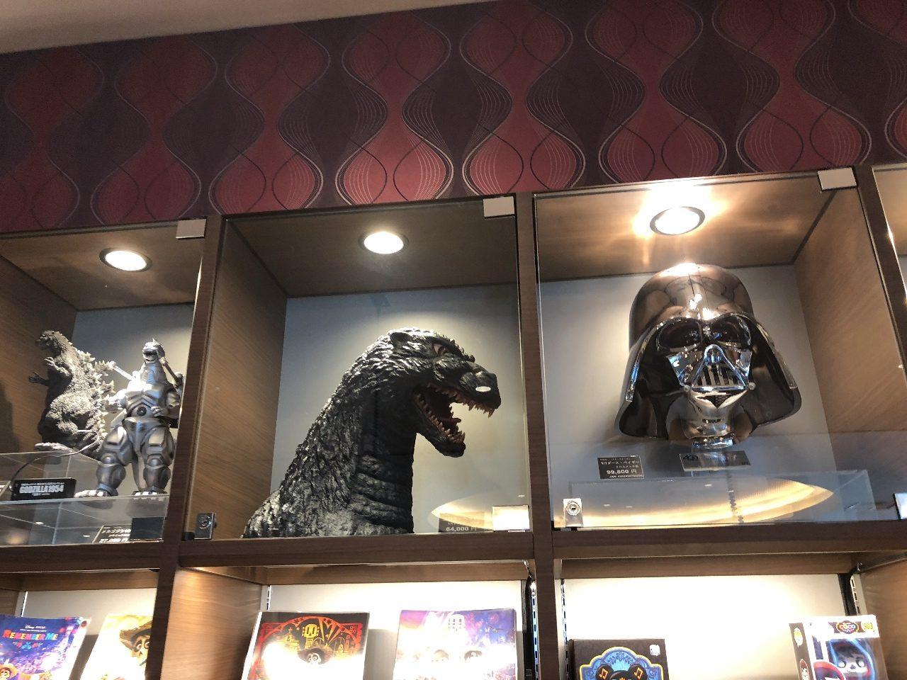 ゴジラの頭部(ゴジラヘッド)のお値段は、84,000円