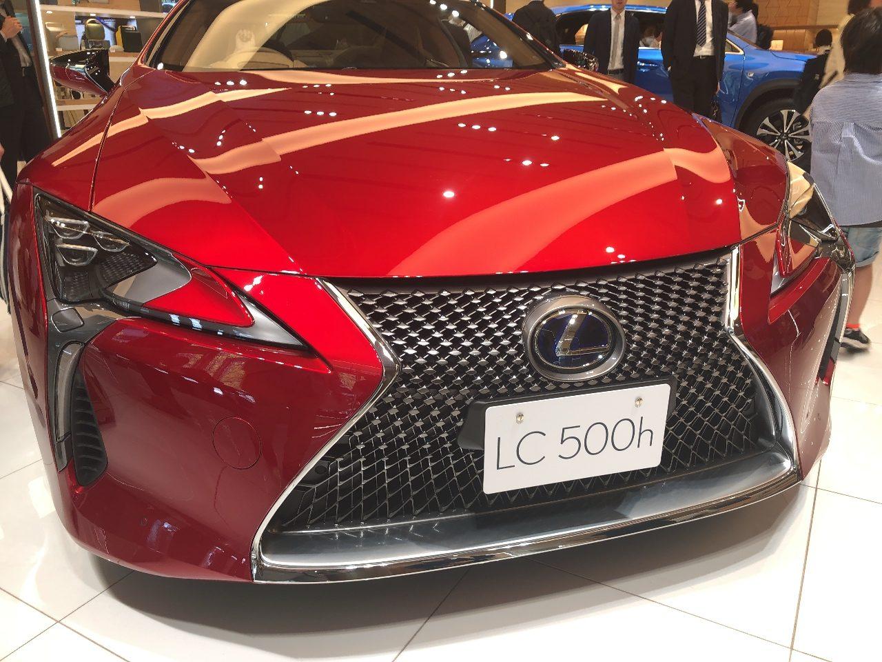 超高級国産スポーティクーペ、レクサス「LC500h」