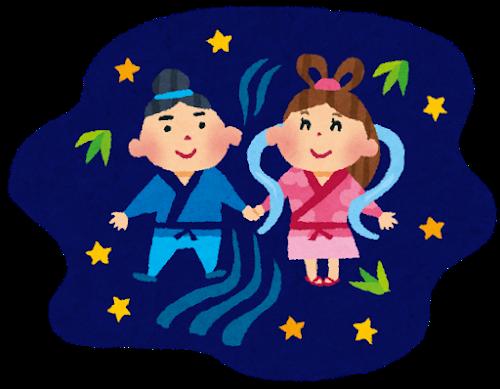 7月7日は七夕!織姫と彦星が一年に一回出会う日に「たなばたさま」を歌おう!