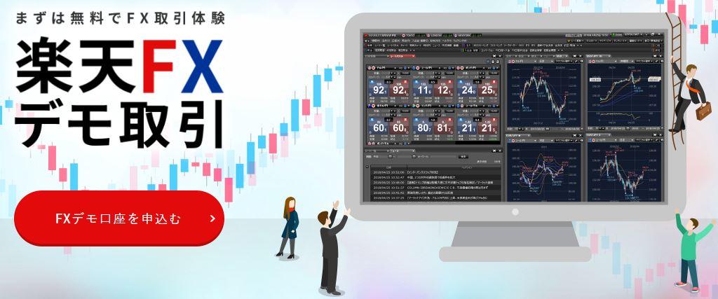 楽天FXデモ取引では、マーケットスピードFXを無料体験