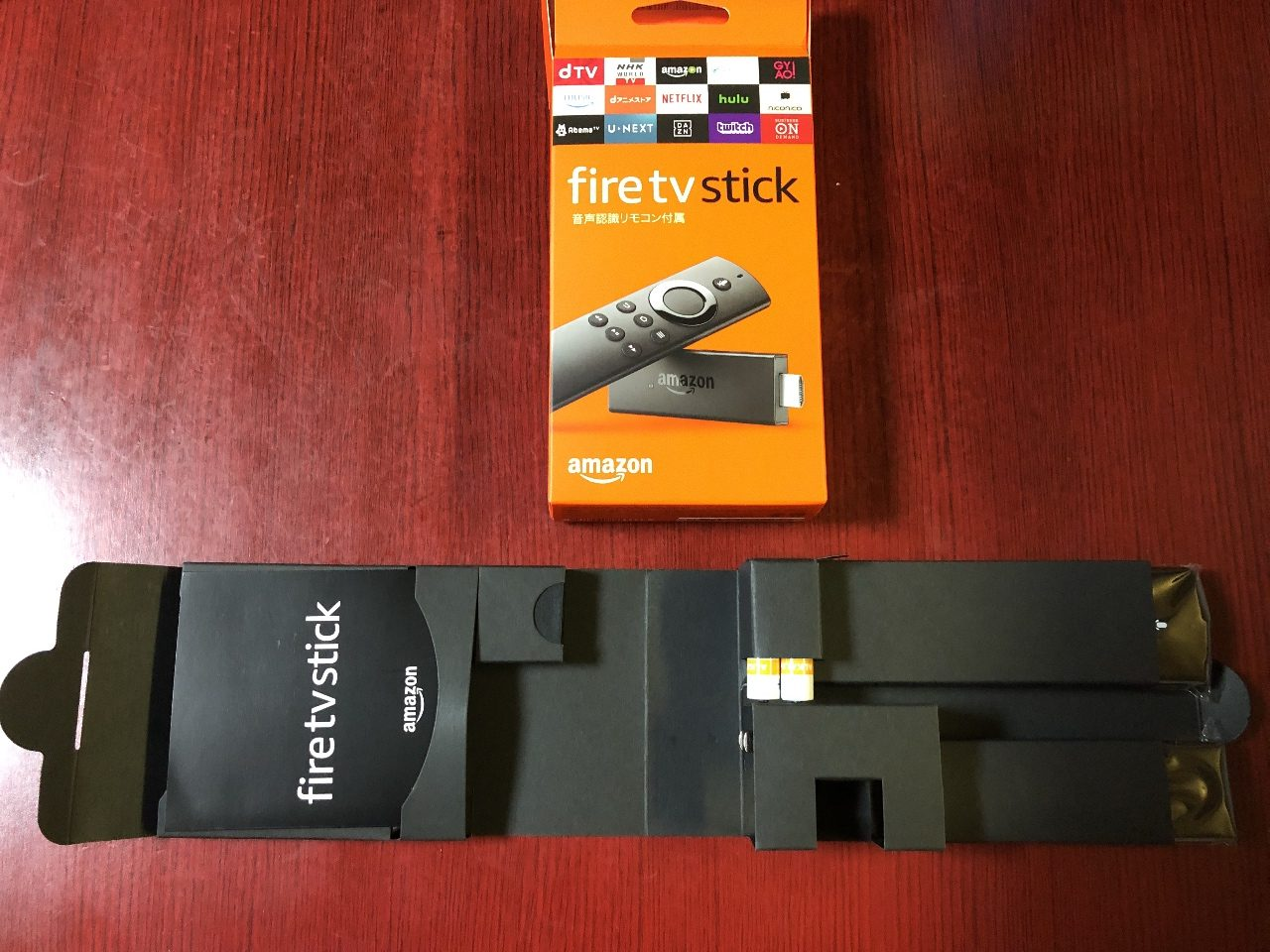 Amazon Fire TV Stick 購入、設置、鑑賞