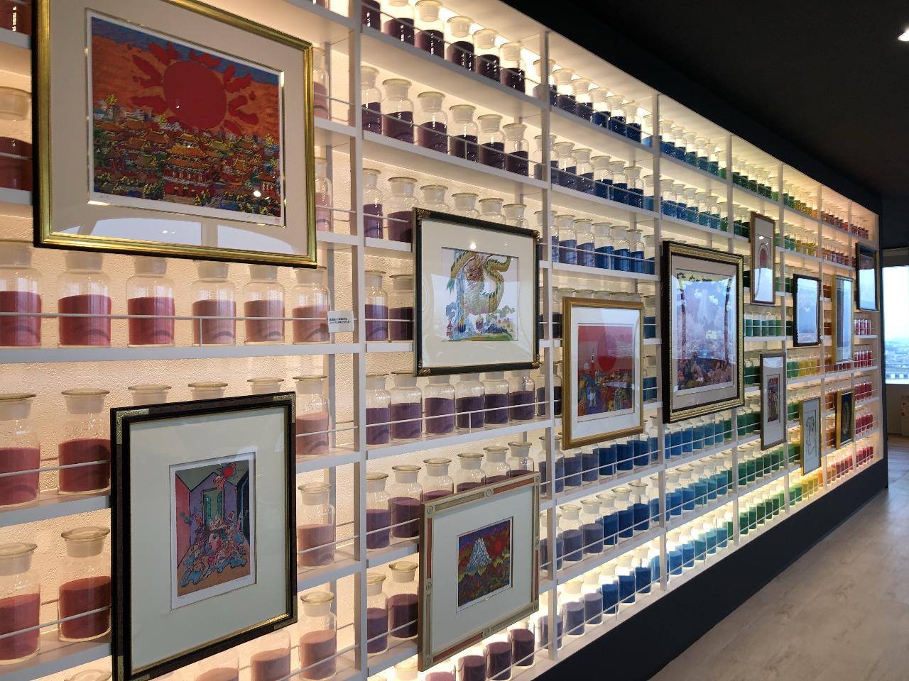 「絹谷幸二 天空美術館」梅田スカイビル25周年記念、豊饒な色彩と驚天動地のイメージ世界に感動!