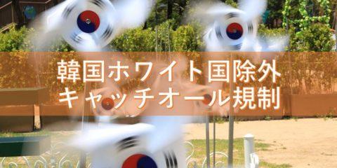 韓国のホワイト国除外でキャッチオール規制が義務!感情論の衝突も激化!